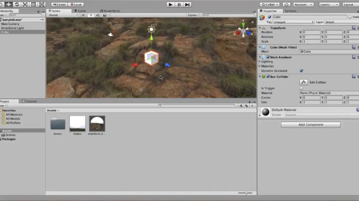 unityでHDR画像を背景に設定する方法